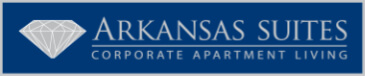 arkansas suites corporate living logo